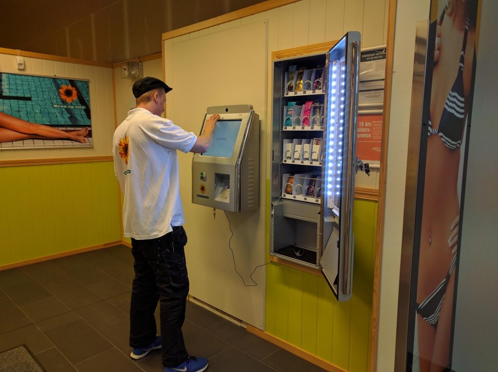 Brun og blid - Solpass-automater